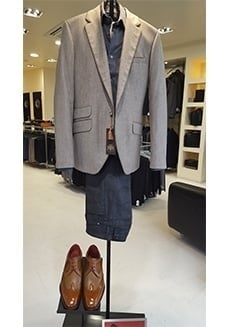 Circle of Gentleman Jacket and Shirt Combo with Jeffery West Shoes