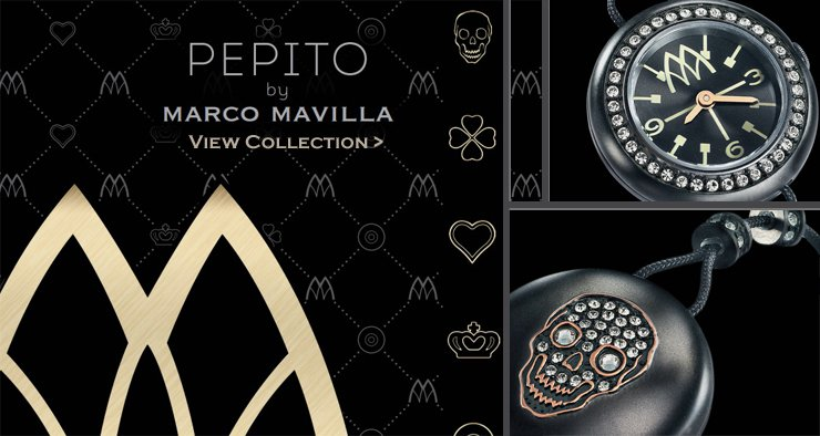 Pepito Watch Bracelets by Marco Mavilla