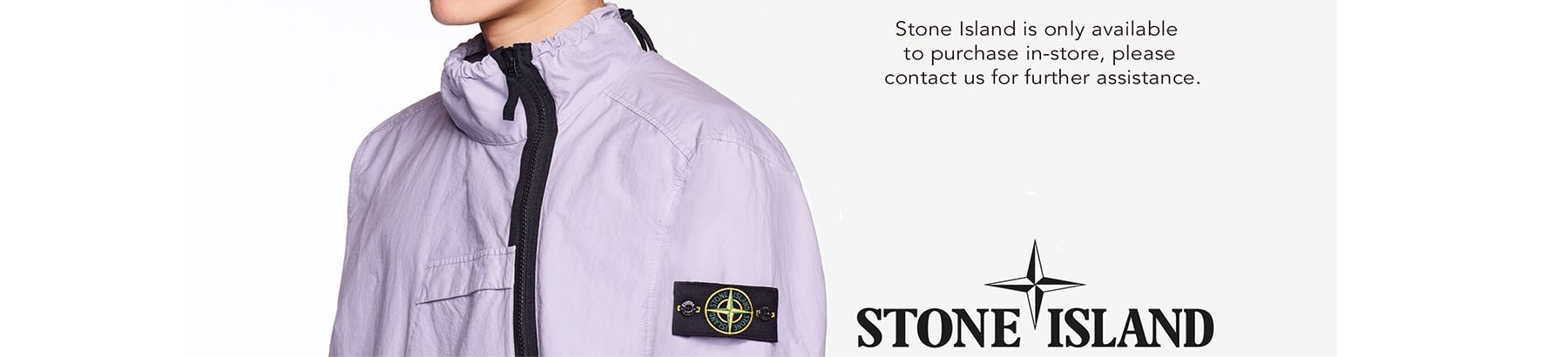 Stone Island Only Available In-Store
