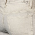 John Varvatos Linen Authentic Jeans in Birch. J269N1B-AIFB