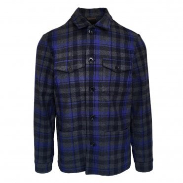 Altea Blue Check Jacket