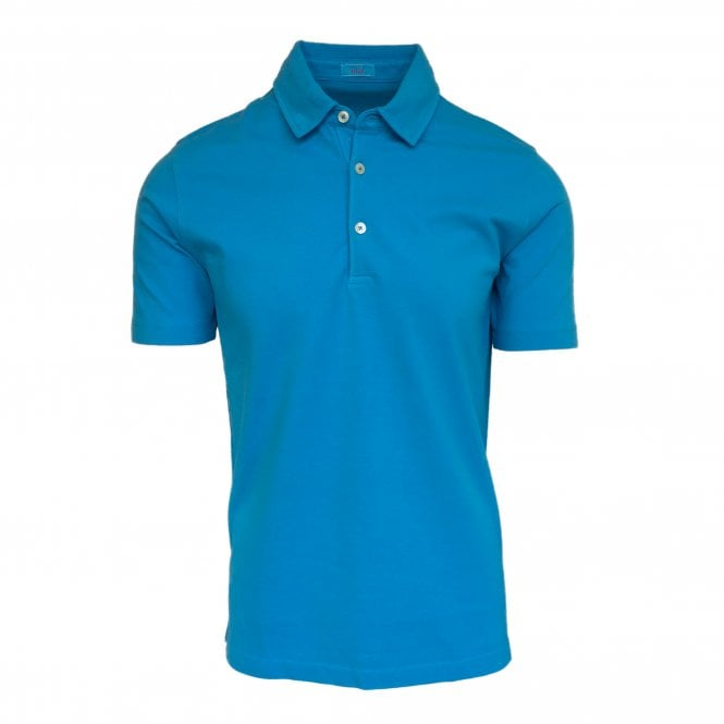 Altea Blue Short Sleeve Polo
