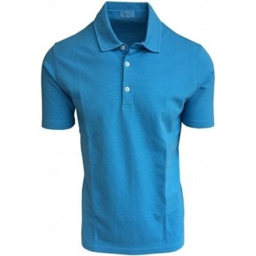 Altea Bright Blue Short-Sleeve Polo Shirt 1855100 13