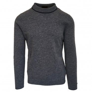 Altea Grey Crew Neck Jumper