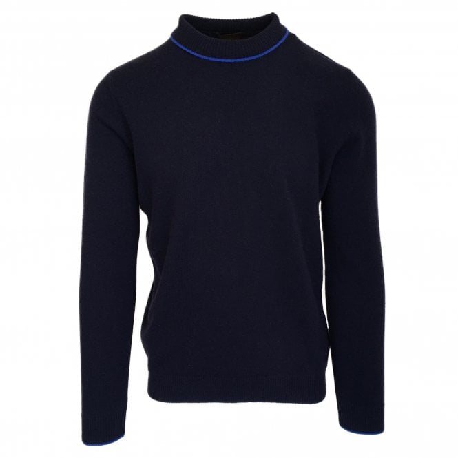 Altea Navy Crew Neck Jumper