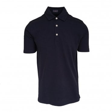 Altea Navy Short Sleeve Polo