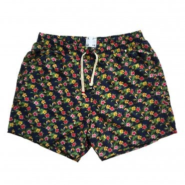Altea Navy Toucan Print Swimming Shorts