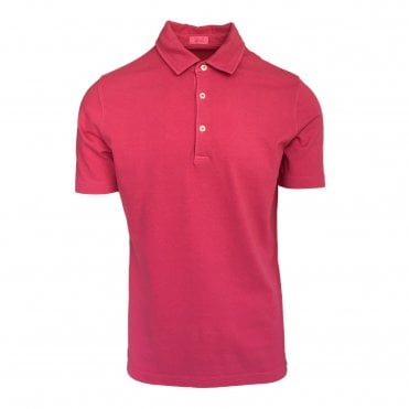 Altea Pink Short Sleeve Polo