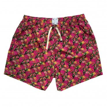 Altea Pink Toucan Print Swimming Shorts