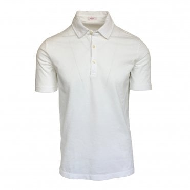 Altea White Short Sleeve Polo