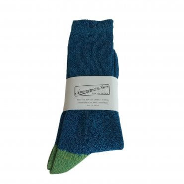 Anonymousism Blue Socks