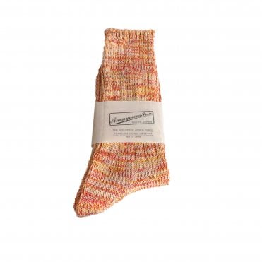 Anonymousism Orange Melange Socks