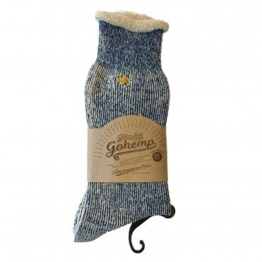 Anonymousism Special Edition Gohemp Blue Socks