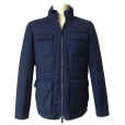 Armani Collezioni Wool & Cashmere Mix Jacket in Navy. PCG07W PCW14