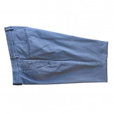 Briglia Light Blue Chino with Turn-Up Finish