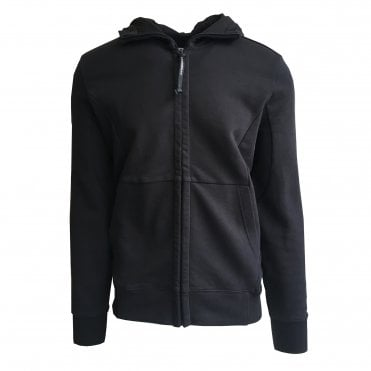C.P. Company Black Hooded Sweat