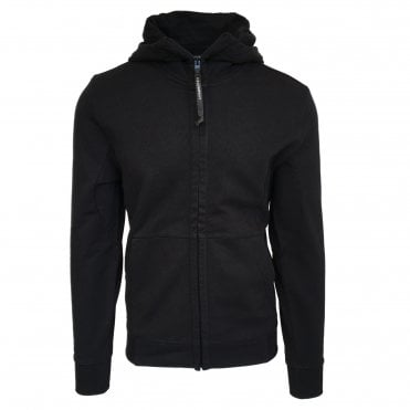 C.P. Company Black Hooded Sweatshirt