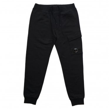 C.P. Company Black Jogging Bottoms