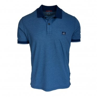 C.P. Company Blue Polo Shirt
