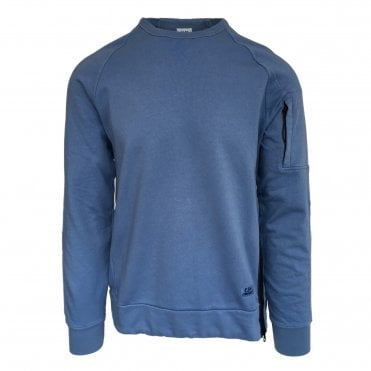 C.P. Company Blue Zip Sweat