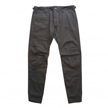 C.P. Black Articulated Leg Trouser