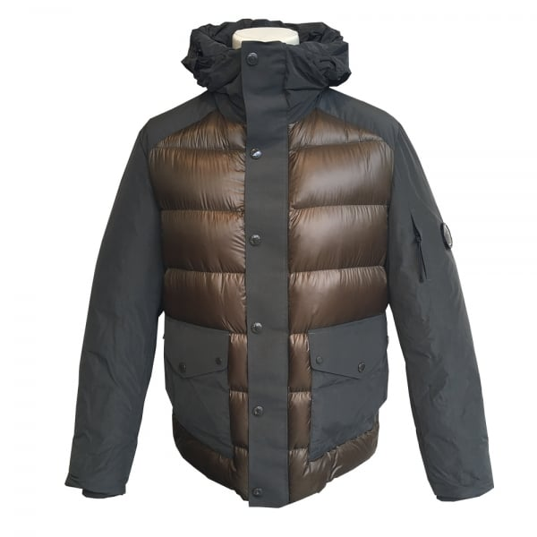 Padded Jacket p d D Down Company Olive C Dark Shell xBwHq700O