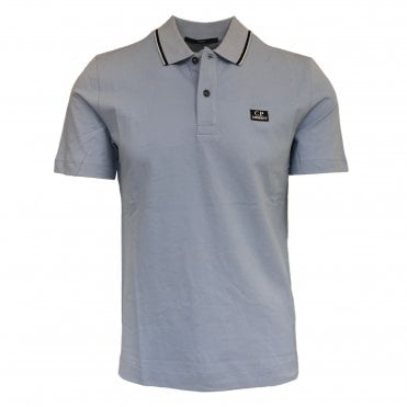 C.P. Company Ice Blue Polo Shirt