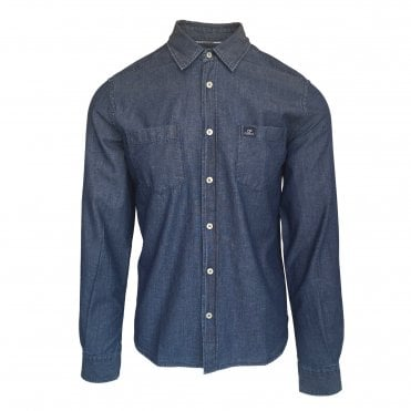 C.P. Company Light Wash Denim Shirt