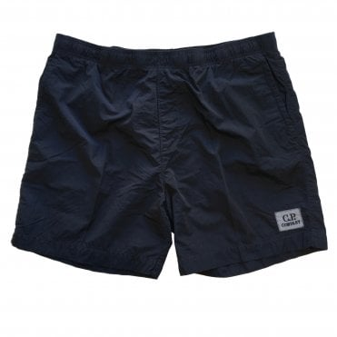 C.P. Company Navy Chrome Nylon Swim Shorts
