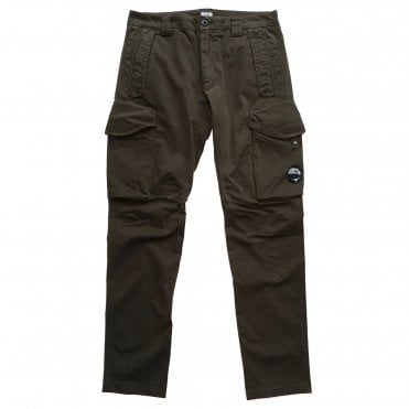 C.P. Company Olive Green Cargo Pants