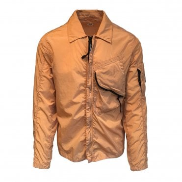 C.P. Company Orange Nylon Overshirt