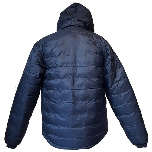 Canada Goose Slim-Fit Lodge Hoody in Ink Blue/Firefly 5055M