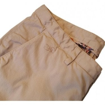 Circle of Gentlemen KAEY Cotton Chinos in Sandy Beige F078 520