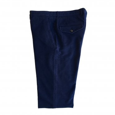 Circolo 1901 Blue Cotton Trouser