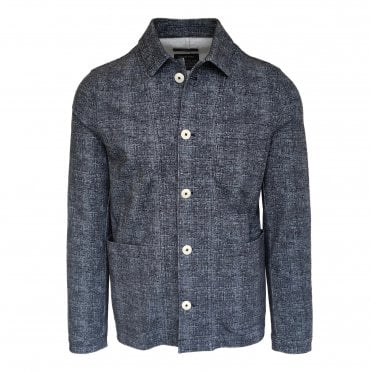Circolo 1901 Blue Stretch Jersey Panama Jacket