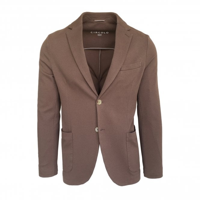 Circolo 1901 Brown Oxford Jacket