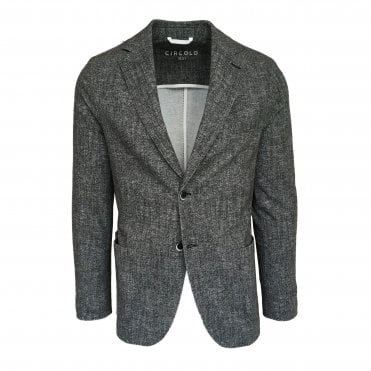 Circolo 1901 Grey Stretch Jersey Jacket
