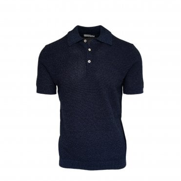 Circolo 1901 Navy Knitted Polo