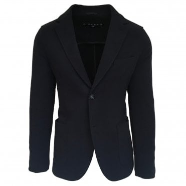 Circolo 1901 Navy Stretch Jersey Jacket