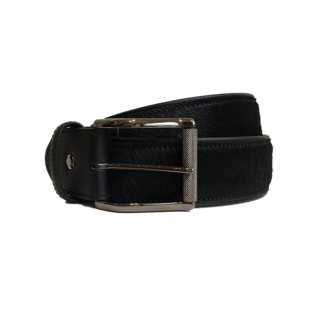 ELLIOT RHODES Black Horse Hair Belt