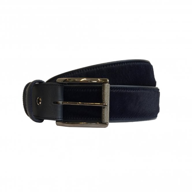 ELLIOT RHODES Ink Blue Horse Hair Belt