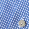 Eton Shirts Contemporary Fit Blue Micro-Check Long-Sleeve Shirt 76707931125