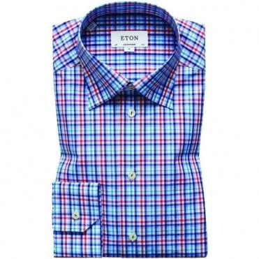 Eton Shirts Contemporary Fit Check Shirt 27276137355