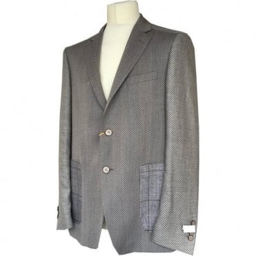 Etro Beige Patchwork Pattern Sports Jacket U16 1G867 1071
