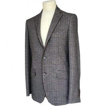 Etro Beige Tweed Alpaca/ Silk Blend Suit Jacket U11894 0138 801