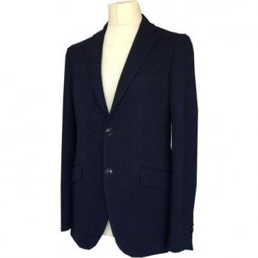 Etro Navy Slim Fit Suit Jacket U1187Q 0133 200