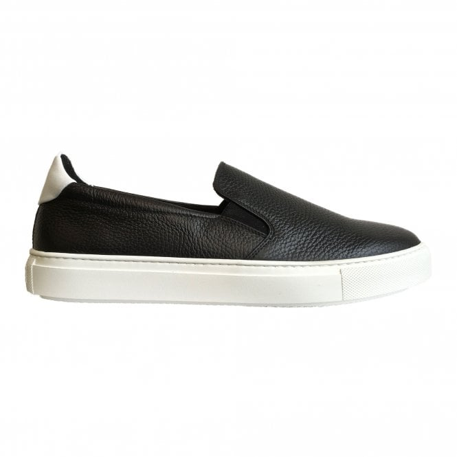 Fratelli Rossetti Black Slip-On Trainer