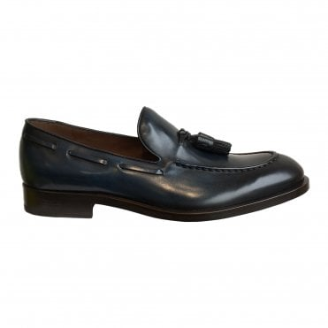 Fratelli Rossetti Midnight Blue Tasselled Loafer