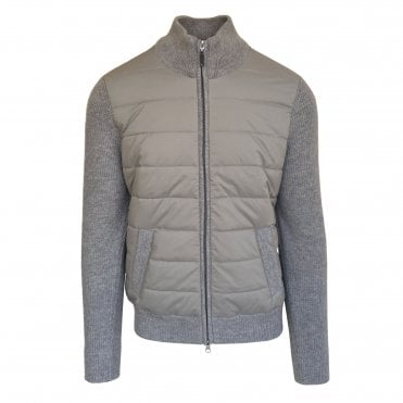 Robert Fuller Grey Quilted Jacket