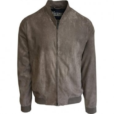 Herno Beige Goat Leather Jacket PL0062U-18054-8600